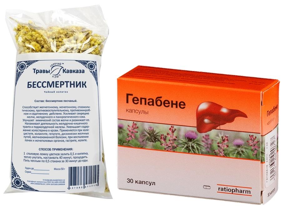 препараты для снижения билирубина